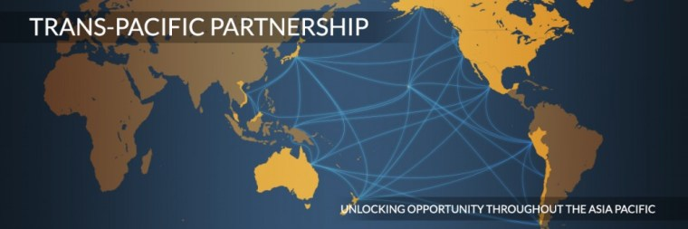 USTR's map of the TPP