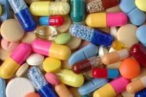 medicines mixed