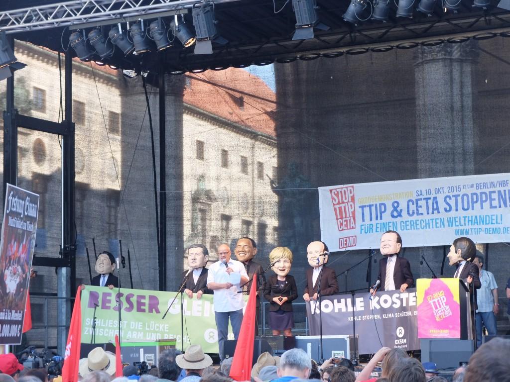Rally in Munich