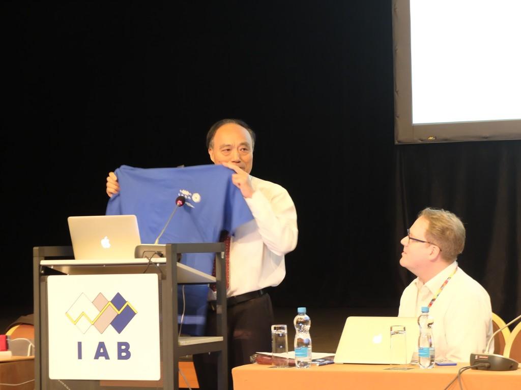 ITU Secretary General Houlin Zhao at IETF Prague, photo credit Monika Ermert
