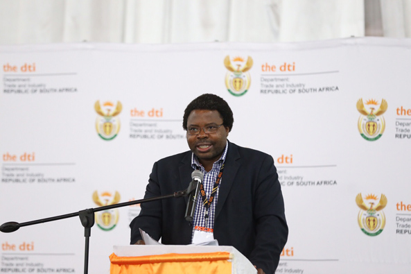 MacDonald Netshitenzhe, Chief Director of Policy and Legislation at DTI