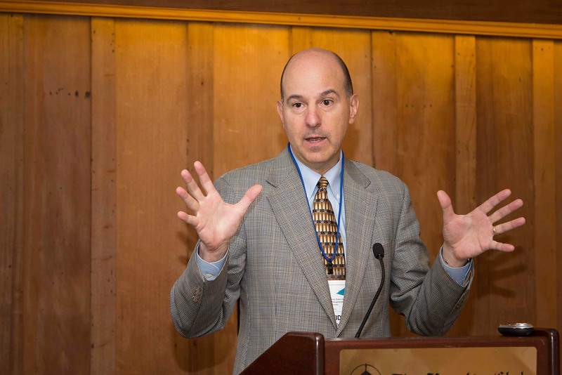 David Kappos addresses audience at the UC Berkeley Faculty Club
