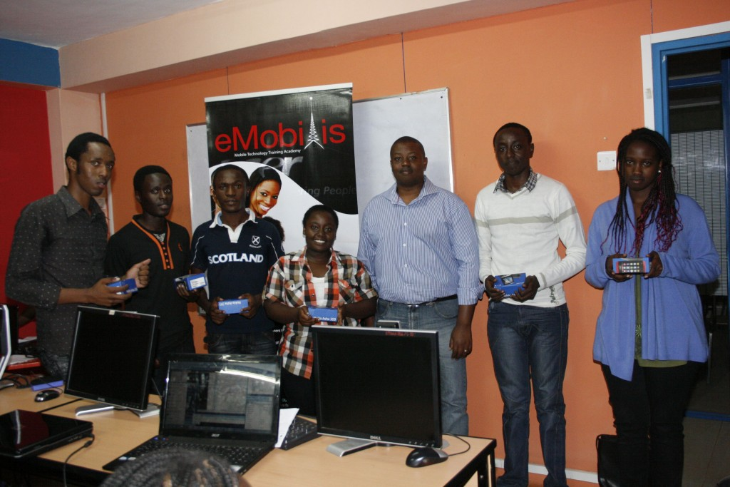 Students graduating from a technology centre. Such centre are flourishing in Kenya.
