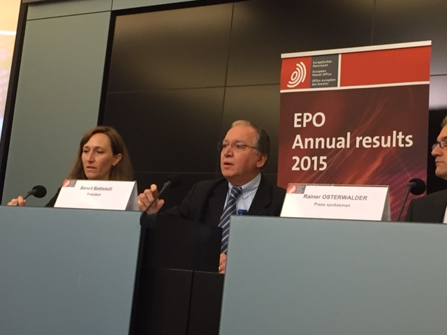 EPO Brussels March 2016