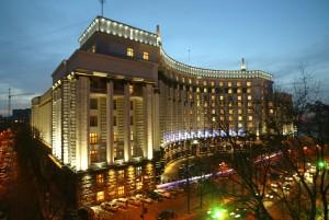 The Cabinet of Ministers building, Kiev, Ukraine