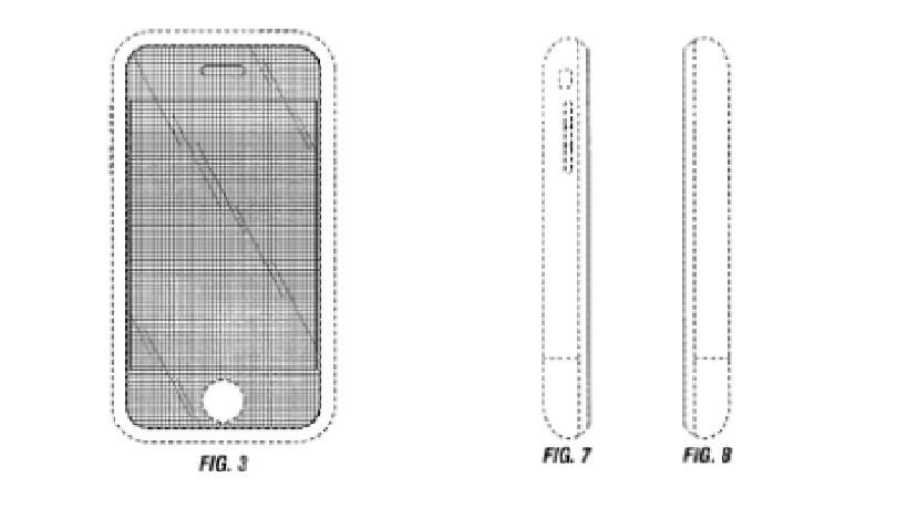 Design of an iPhone screen shape