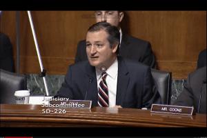Sen. Ted Cruz chairs today's panel
