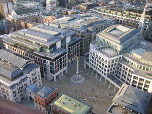 London Stock Exchange in Paternoster Square