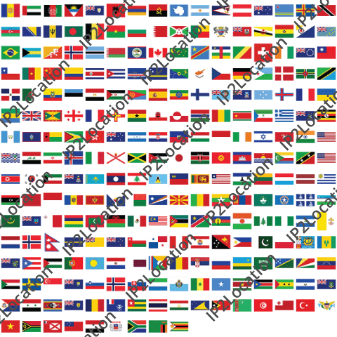 free country flags ip2location