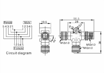 Male Control Connector Male Knob Wiring Diagram ~ Odicis