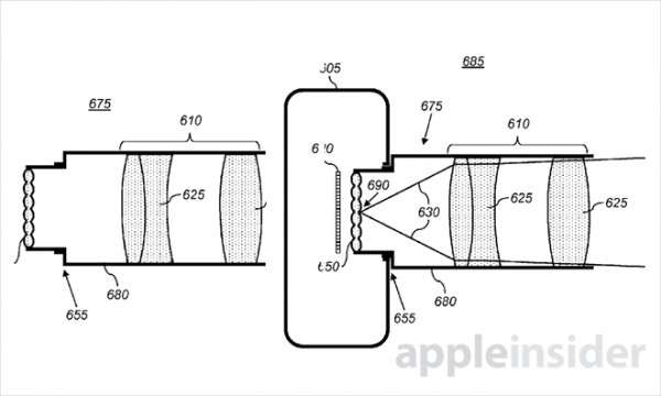 Apple brevetta una fotocamera che mette a fuoco le
