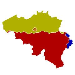BelgieGemeenschappenkaart