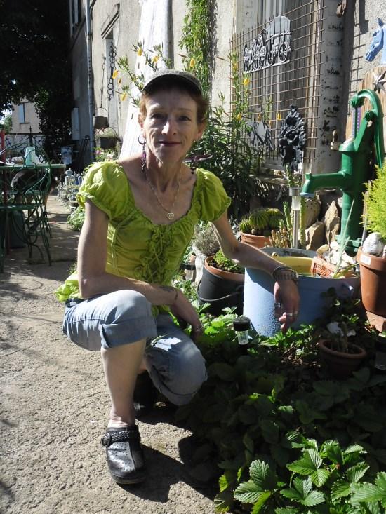 Un monde riche et vert que celui de Christine