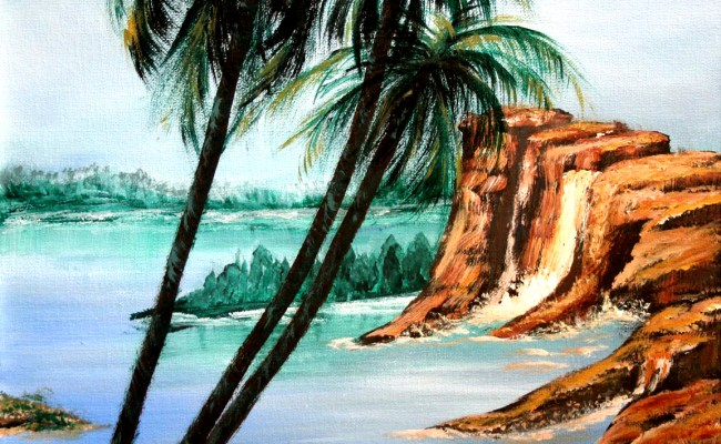 Painting Tips And Tricks Painting A Palm Tree I Paint
