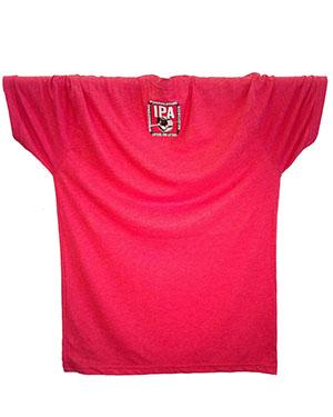 IPA 3-LIFTER TEES NEXT LEVEL TRI-BLEND SHIRTS MEN—RED - back