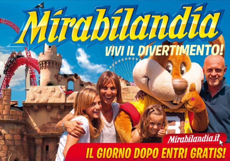Mirabilandia, uno dei principali parchi divertimento d'Italia sulla costa romagnola