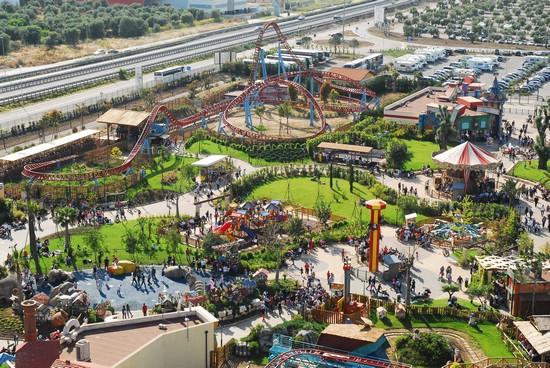 Il parco divertimenti Miragica in Puglia