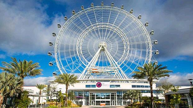 ICON Orlando, la ruota panoramica piu alta di tutti gli Stati Uniti orientali