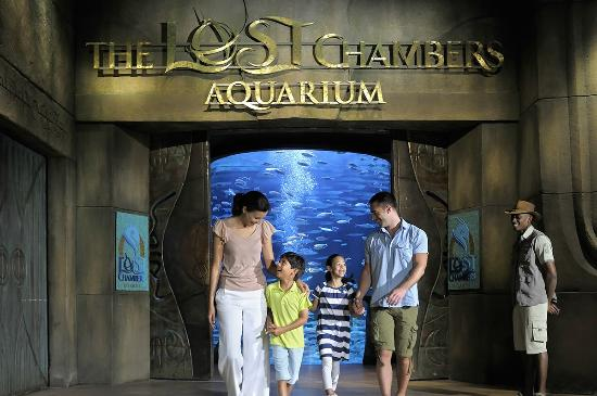 Acquario The Lost Chambers Aquarium a Dubai