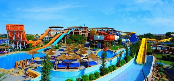 Il parco acquatico Jungle Aqua Park a Hurghada in Egitto
