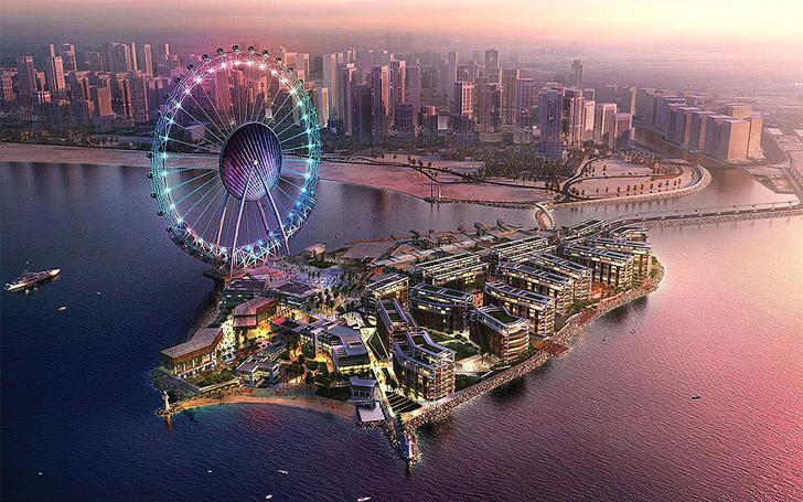 La Dubai Eye, la ruota panoramica piu alta del mondo