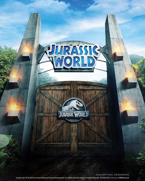 """Il 3 settembre ultimo viaggio di """"Jurassic Park-The Ride"""", poi arriva la nuova attrazione """"Jurassic World Ride"""""""