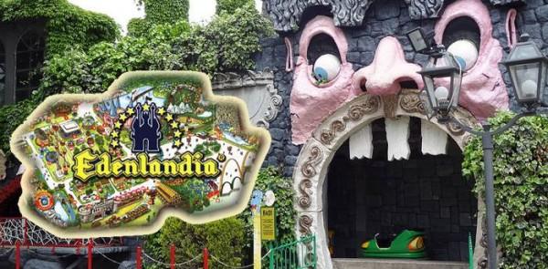 Il parco divertimenti Edenlandia a Napoli