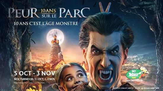 Halloween 2019 al Parc Astérix di Parigi in Francia