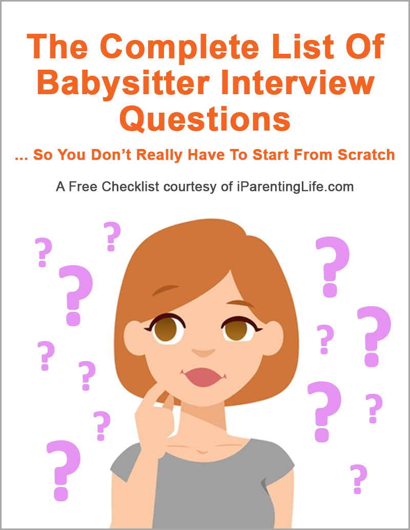"Your FREE Download Of ""The Complete List Of Babysitter"