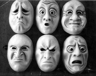 Mascaras y teatro