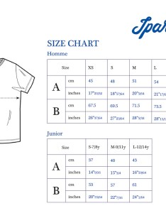 Size chart available colours blue poppy red emerald also ipar hego basque surf co  shirt rh iparhego