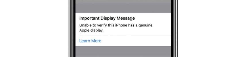 iPhone 11 Important Display Information