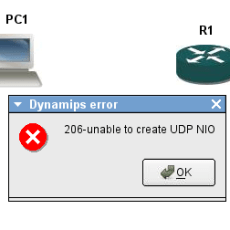 Cisco 7200 Simulator – Dynamips installation for window