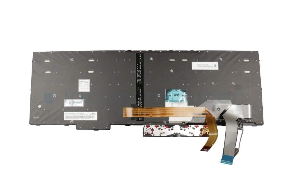 Lenovo ThinkPad E580 (20KS/20KT) Original Tastatur DE (deutsch) schwarz/schwarz mit Backlight und Mouse-Stick: Akku. Netzteil. Display. etc ...