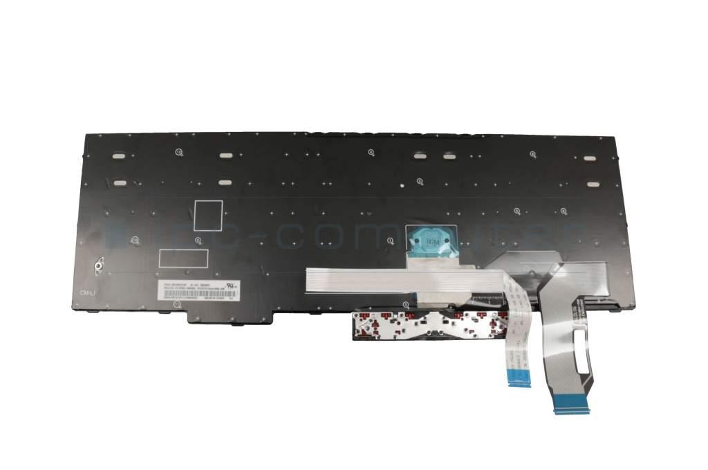 Lenovo ThinkPad E580 (20KS/20KT) Original Tastatur DE (deutsch) schwarz/schwarz mit Mouse-Stick ohne Backlight - ipc-computer.de