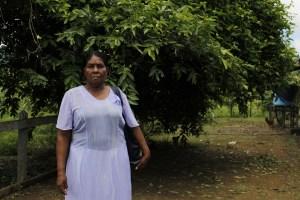 A Tarcila Rosa, la justicia le restituyó pero ahora nuevamente está siendo amenazada