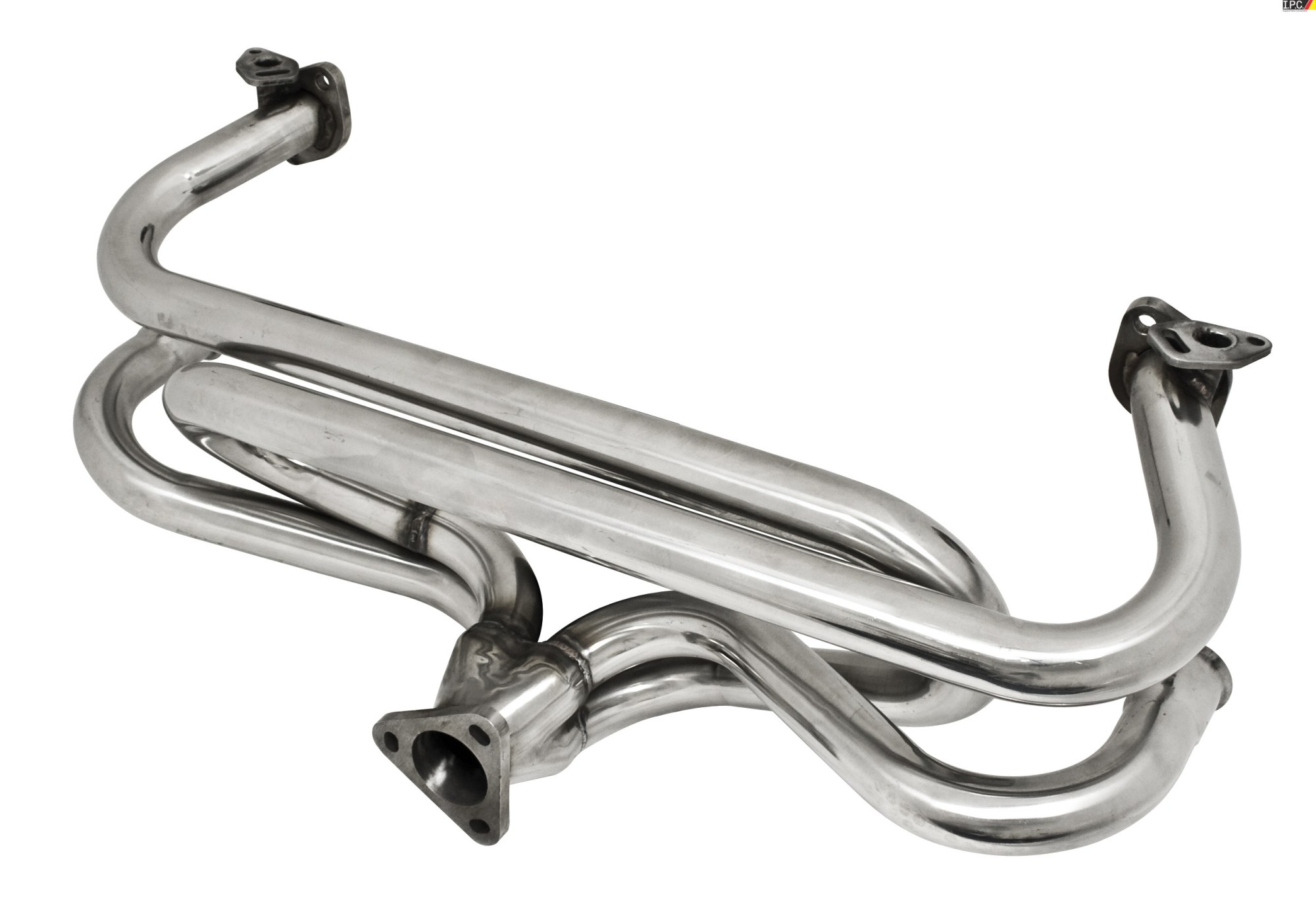 hight resolution of empi stainless steel extractor header