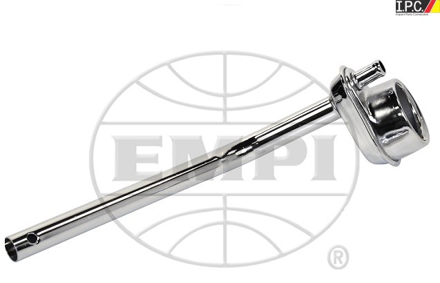 EMPI Chrome Oil Filler w/ Tube I.P.C. VW Parts, VW Bug