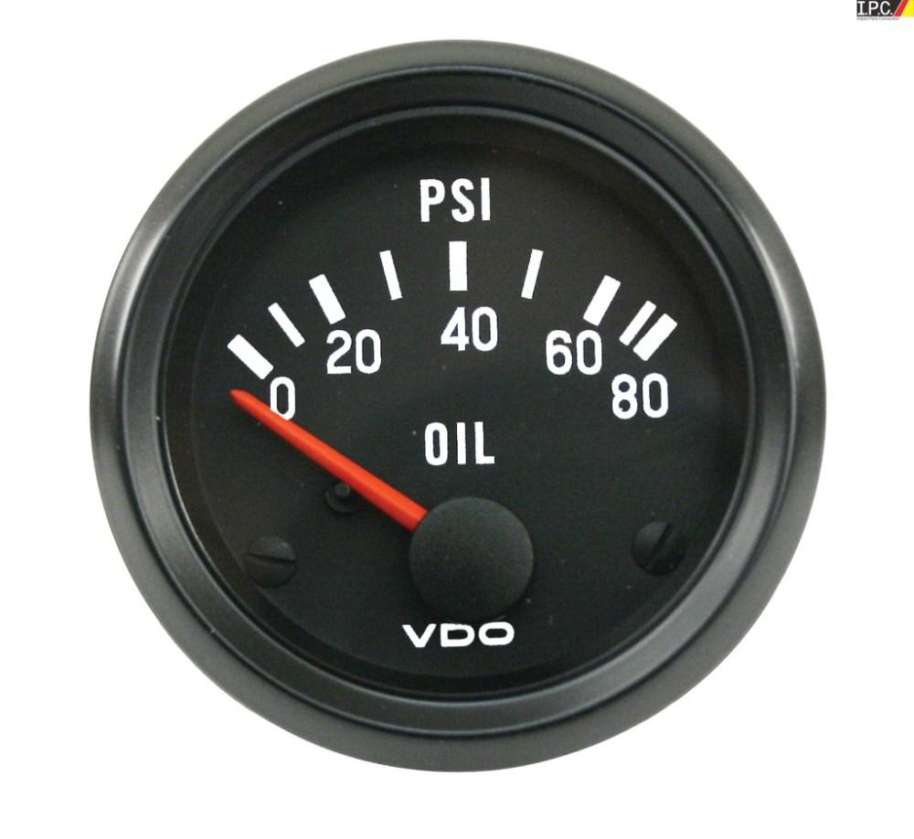 medium resolution of vdo oil pressure gauge 0 80 psi