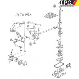 Manual Trans Shift Rod Short-1985-1992 I.P.C. VW Parts, VW