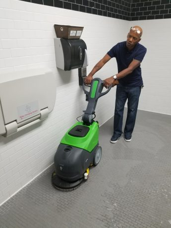 how do floor scrubbers work and why