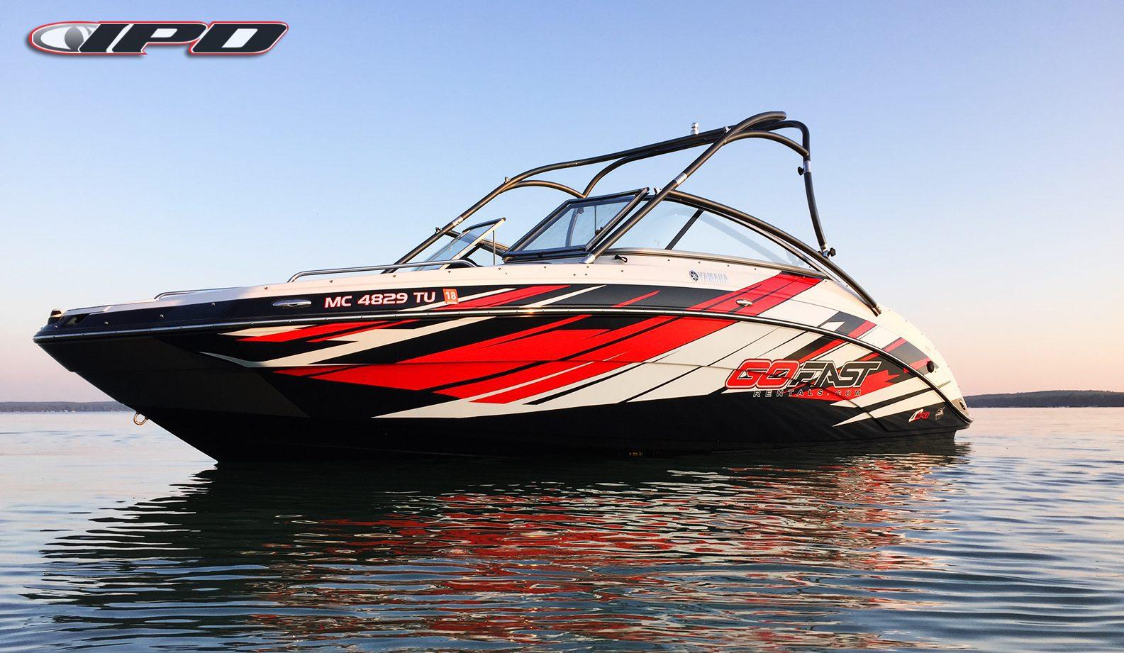 Custom Designed Boat Graphics Kit 50 Deposit  IPD Jet Ski Graphics