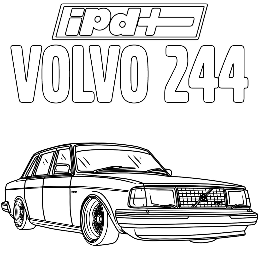 IPD Volvo Coloring Pages