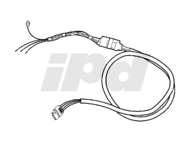 Trailer Towing Lighting Adapter Harness P1 S40 V50 2008