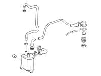 Volvo PCV Breather System Kit 1993-1997 850 Non-Turbo IPD