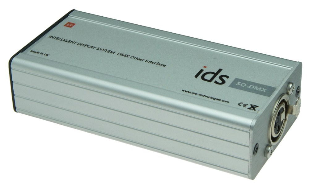 medium resolution of the ids sq dmx brings dynamic integration with dmx lighting equipment to your ids network ids core lets you configure and manage lighting effects for all