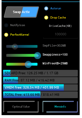 Increase Android Device's RAM