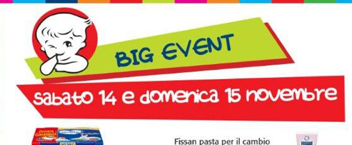 Big Event 14 – 15 Novembre - IperBimbo