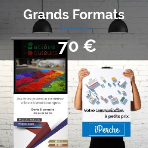 Offre Création Affiches Grands Formats : 70 euros
