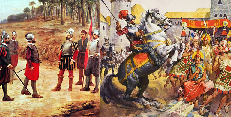 La Conquista del Per Francisco Pizarro Historia del Per